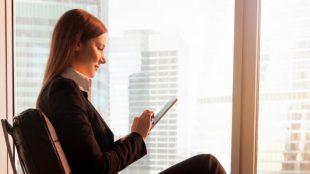 woman-checking-using-mobile-phone